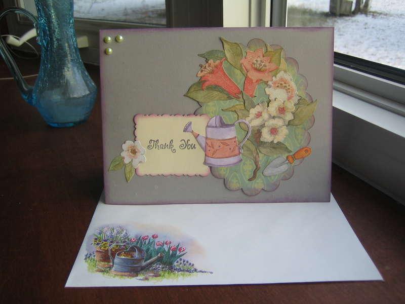 Garden Thank You Card