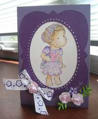 Bridesmaid Tilda Card