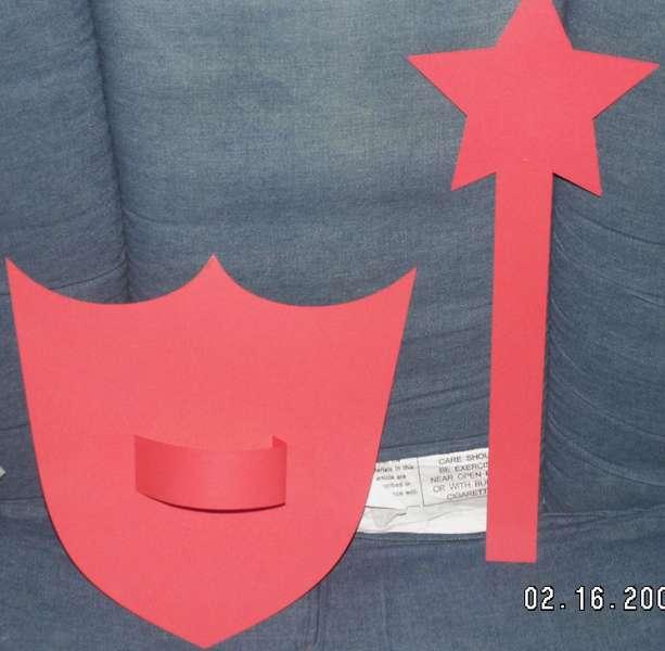 Shield and Wand BW