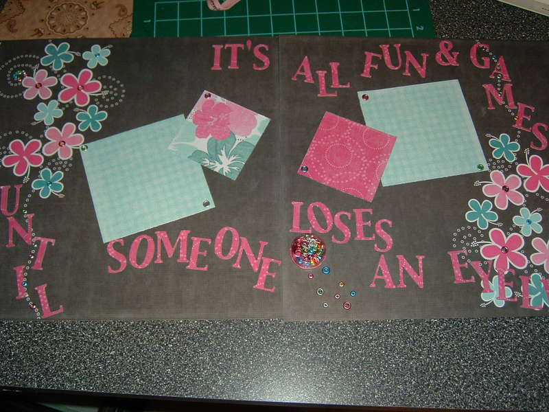 It's all fun and games Two Pages