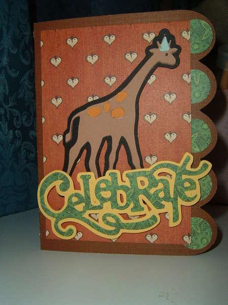 Celebrate Card Cover