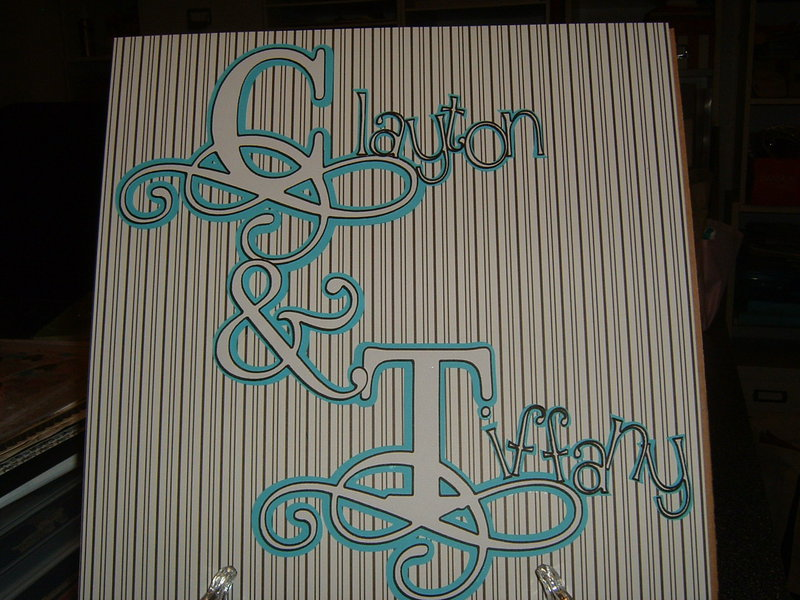 Clayton (aka Bug) and Tiffany Title Page