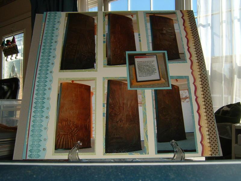 Hoover Dam Bronze Panels