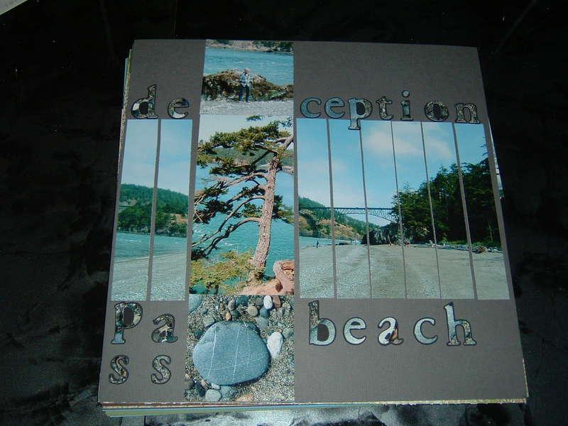 Deception Pass Beach Title Page