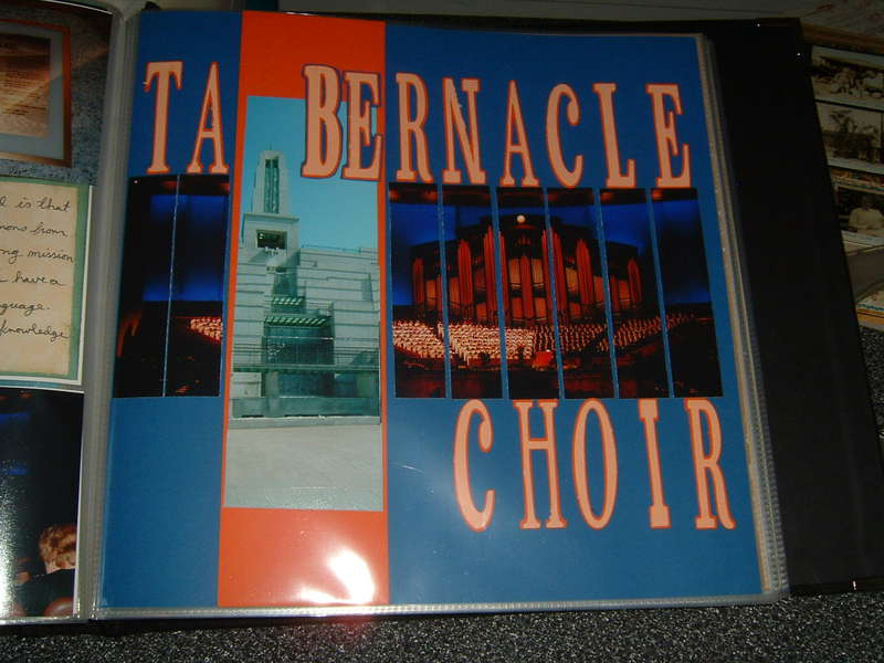 Tabernacle Choir Title Page