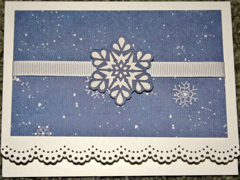 scallop bottom snowflake