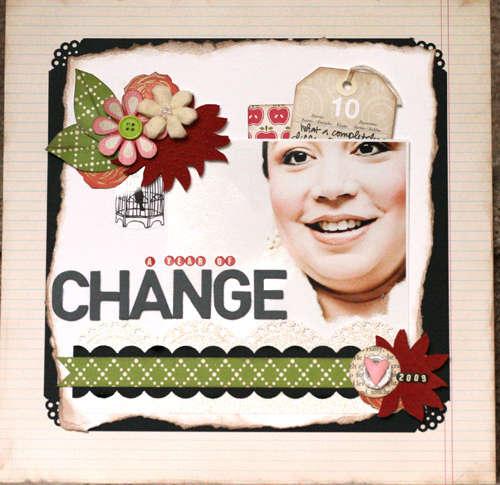 A year of change *Noel Mignon Challenge*