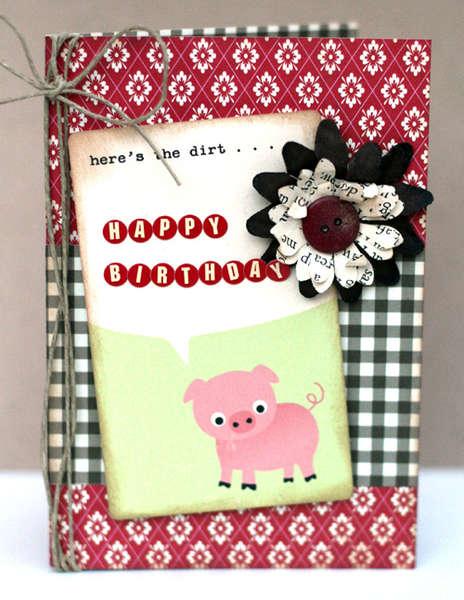 Happy Birthday Card *WIP kits*