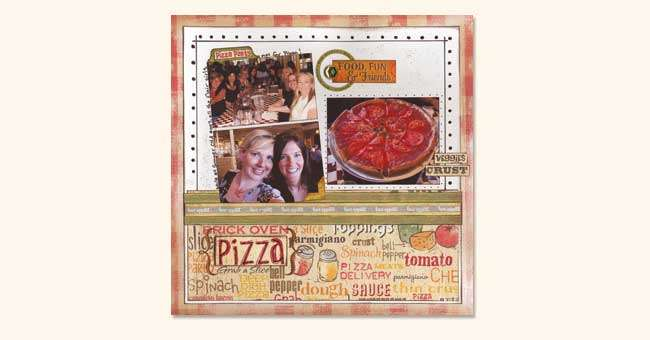 Pizza Party  Layout
