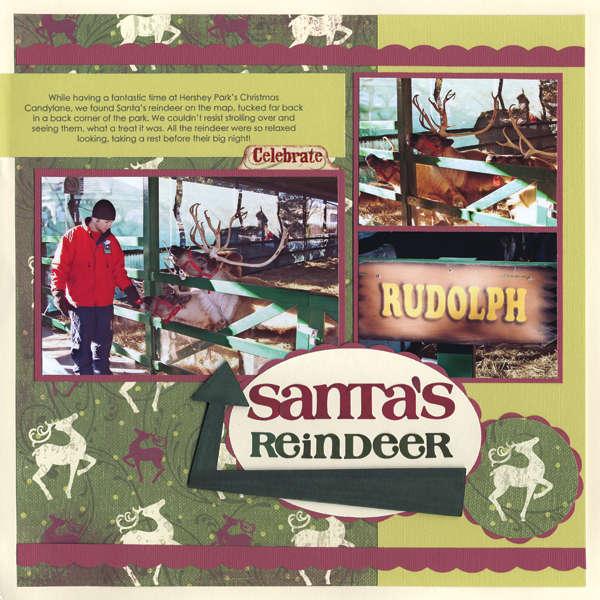 Santa's Reindeer Layout