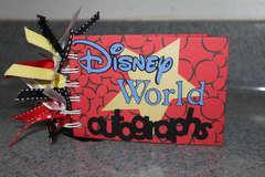 Disney World Autographs Book