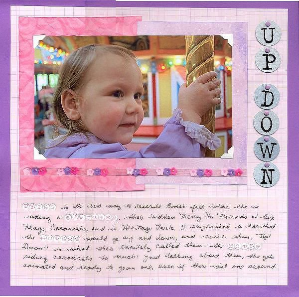 Up Down - Esme on the Carousel
