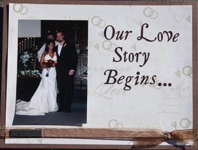 Our Love Story Begins...