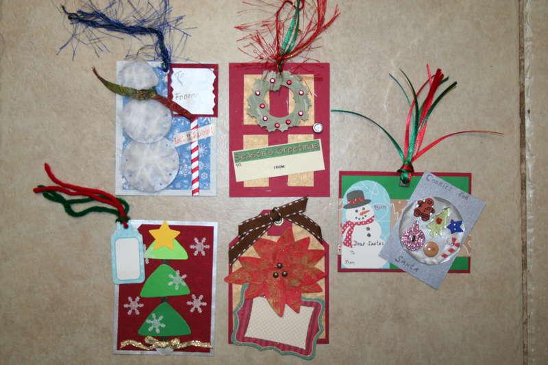 Christmas Gift Tag Swap 2006