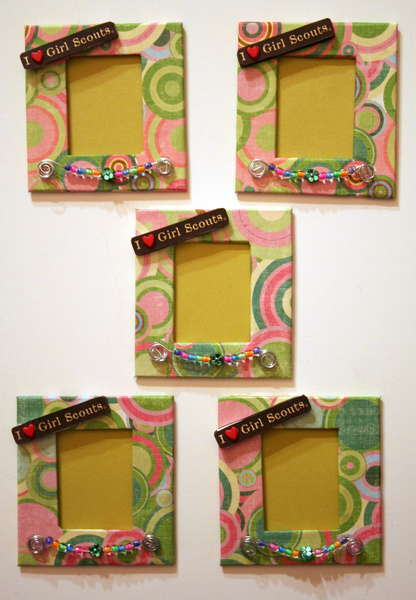 Girl Scout Picture Frame