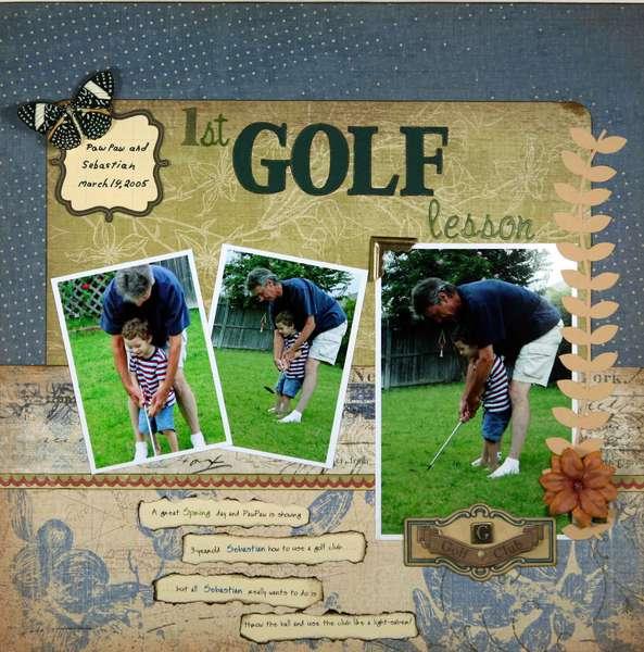 1st Golf Lesson