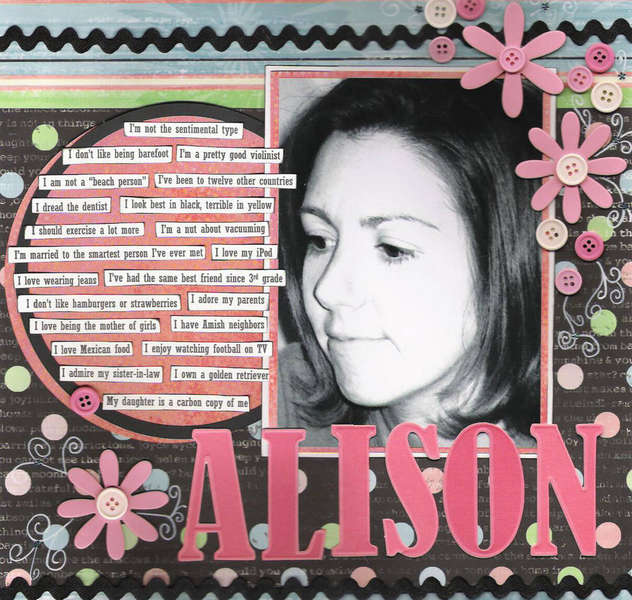 ALISON - All About Me