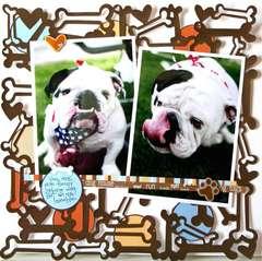 KI Memories: Playful Pets: Funny Dog