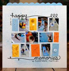 Ki Memories Scribbles by Lisa Dickinson