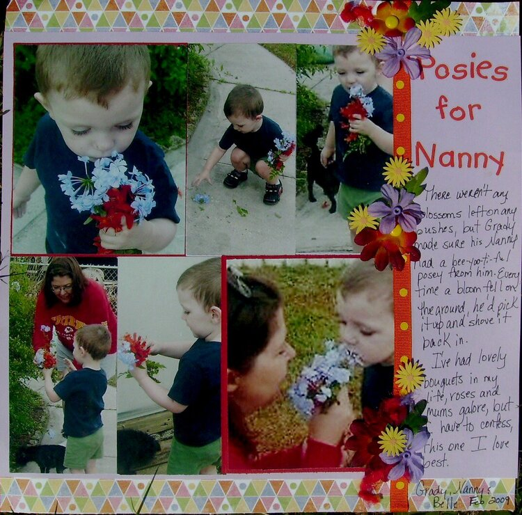 Posies for Nanny