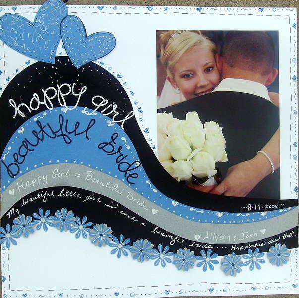 Happy Girl--Beautiful Bride