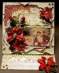 Merry Christmas Easel Card *Swirlydoos Kit Club*