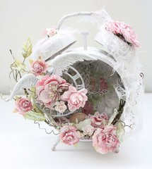 Shabby Chic Altered Clock *Swirlydoos Kit Club*