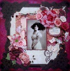 Beautiful Lady *Swirlydoos Kit Club*
