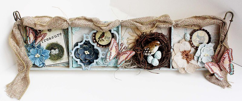 Altered Bird Tray *Swirlydoos Kit Club*