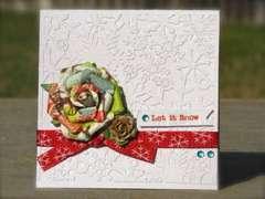 Let it Snow ** Paper Lovelies Dec. 2011 kit! **