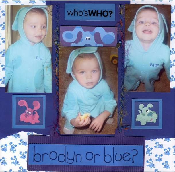Who is who - Brodyn or Blue?