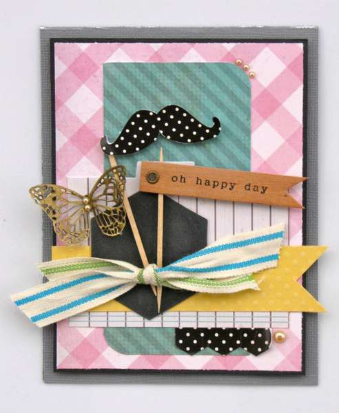 oh happy day **The Sampler February 2012 kit** CARD CHALLENGE!