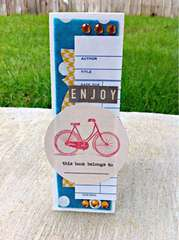 enjoy bookmark card  **The Sampler March 2012 kit**