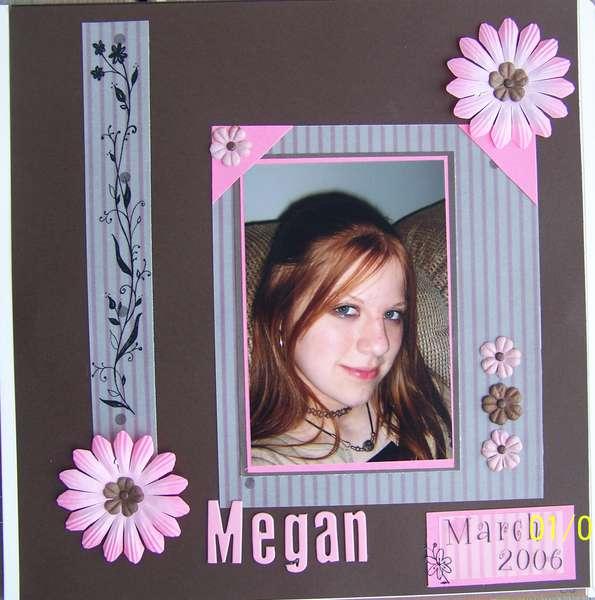~Megan ~ March 2006