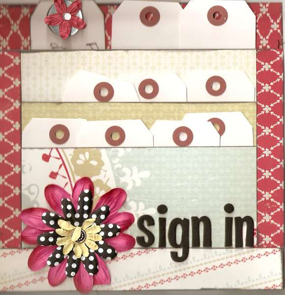 Sign In Paper for Circle Journal