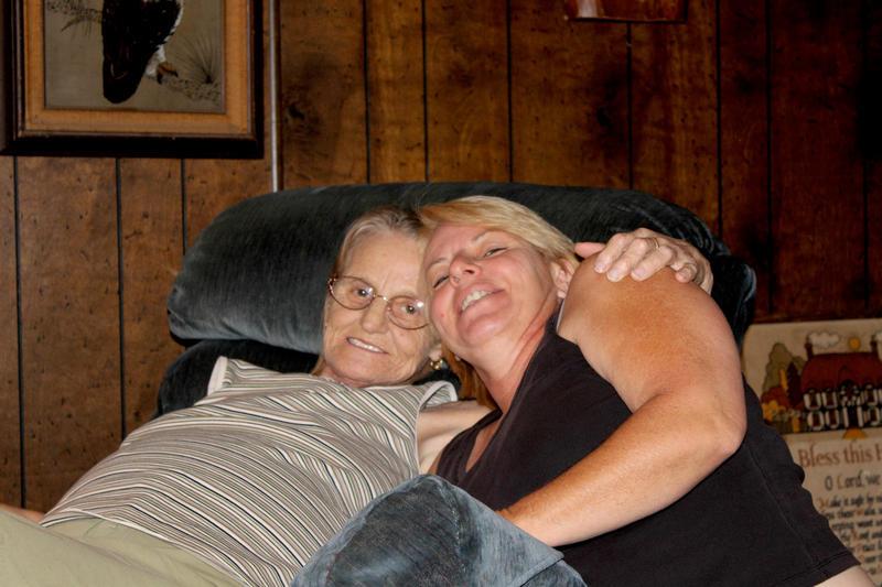 My big sister Betty & I