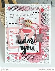 ~ adore you ~ *February Elle's Studio*