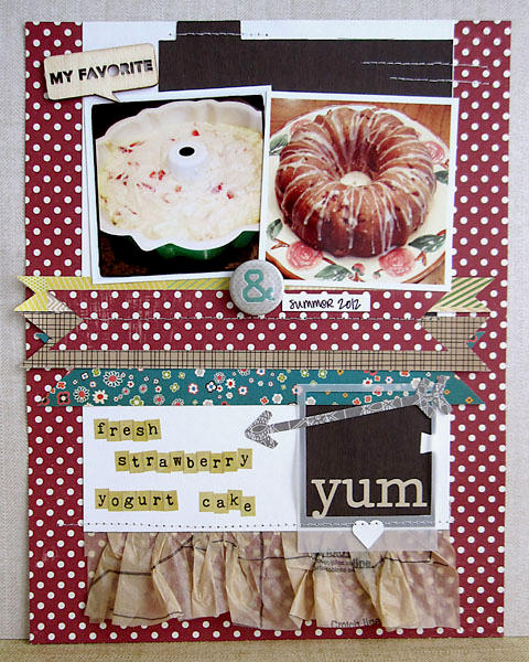 ~ cake ~ *Scrapbook Circle**