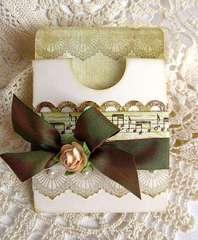 ~ gift card holder ~
