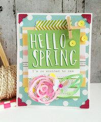 ~ hello Spring ~**Elle's Studio March**