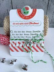 ~ ho ho ho gift card holder ~