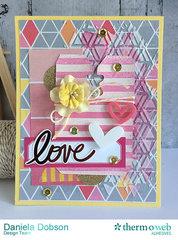 ~ love card and treat bag ~