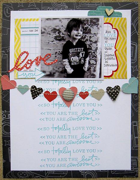 ~ love you ~ **February Studio AE**