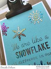 ~ snowflake quote ~