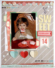 ~ sweet ~ Scrapbook Circle January kit
