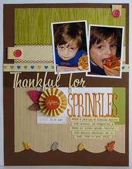 ~ thankful for sprinkles ~