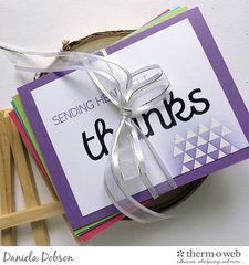~ thank you card set ~
