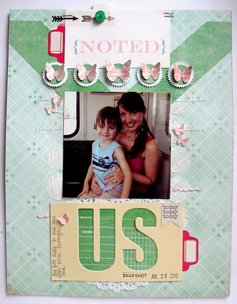 ~ us ~ Scrapbook Circle January kit