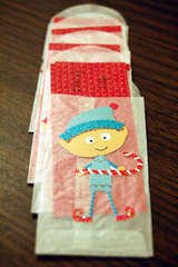elves gift tags