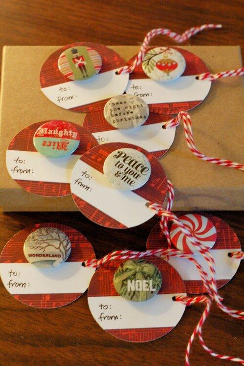 circle gift tags